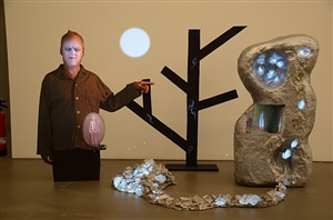 chromium crawl by tony oursler