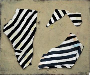 three striped objects by jürgen möbius