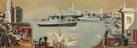 new york harbor by joseph floch