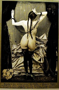 the paris triad: venus in chains by joel-peter witkin