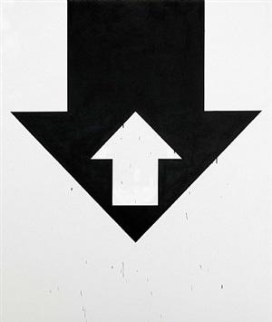 arrow painting by gardar eide einarsson