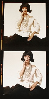 the lost sitting: marilyn monroe in jackie wig by bert stern