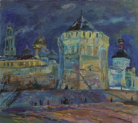 the evening of zagorsk by vitaly abramovich orlovsky