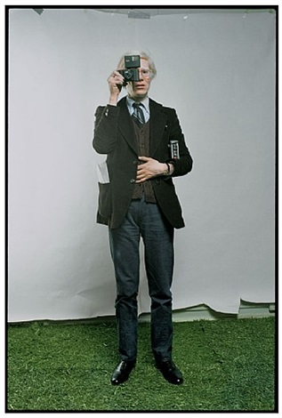 andy warhol, new york city, 1976 by annie leibovitz