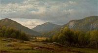 catskill vista by charles wilson knapp