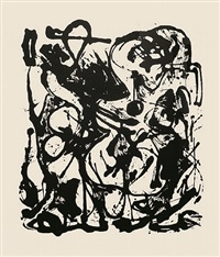 untitled, cr1094 (after painting number 19, cr333) by jackson pollock