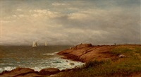 along the shore, narragansett by charles wilson knapp