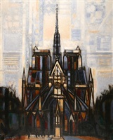 notre dame by marcel gromaire