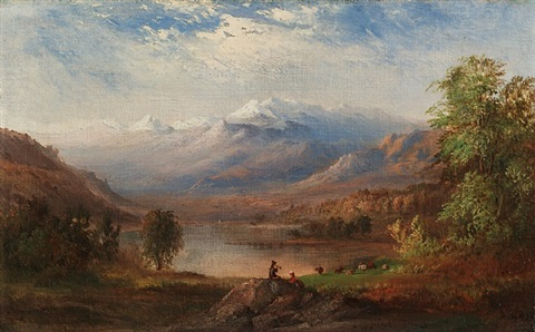 the apennines, italy by robert scott duncanson