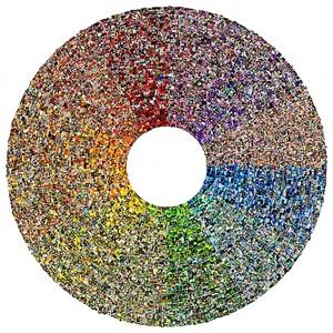 color wheel by jason salavon