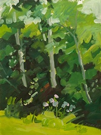 view over the ditch by lois dodd