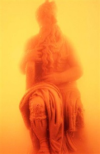 immersions (moses) by andres serrano