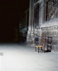 the church (st. clotilde), paris by andres serrano