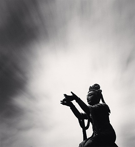 buddha offering, lantau island, hong kong, china by michael kenna