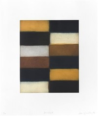 blue fold by sean scully