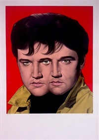 red elvis by ron english