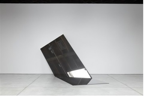 untitled (folded mirror 13) by iran do espírito santo