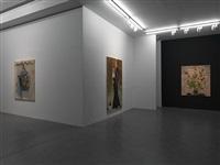 installation view, simon lee gallery by paulina olowska