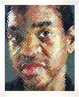 lyle by chuck close