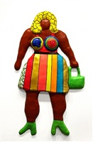 do you like my new dress (brown) (remembering) by niki de saint phalle
