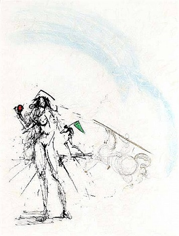 ronsard suite: the angler by salvador dalí