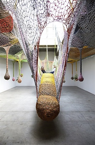 the sun lits life, let the son by ernesto neto