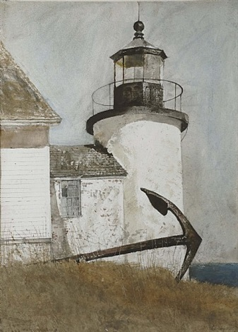 deserted light by andrew wyeth