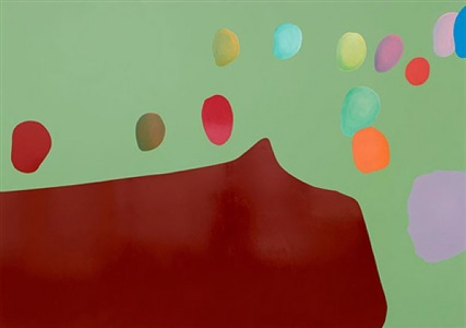 gary hume anxiety and the horse by gary hume