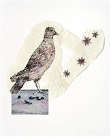 birds with stars by kiki smith