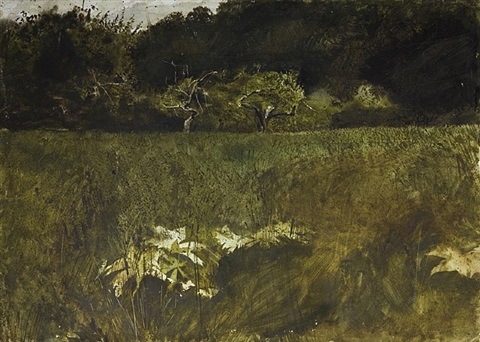 n.c. wyeth orchard by andrew wyeth