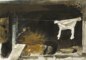 study for the bachelor by andrew wyeth