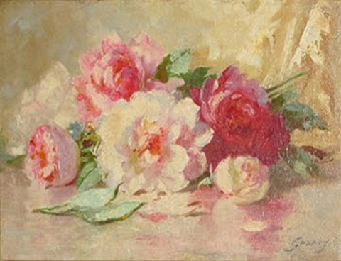 roses on a table by abbott fuller graves