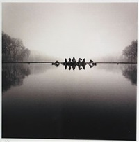 charoit of apollo, study 3, versailles by michael kenna
