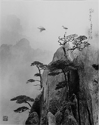 pine peak, huang shang, china by don hong-oai