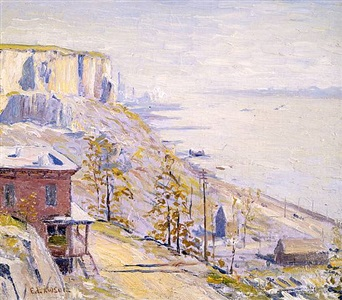 summer set by ernest lawson