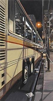 tour bus by richard estes