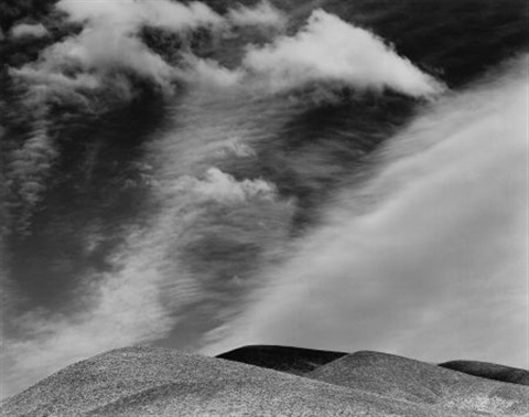 panamints death valley by edward weston