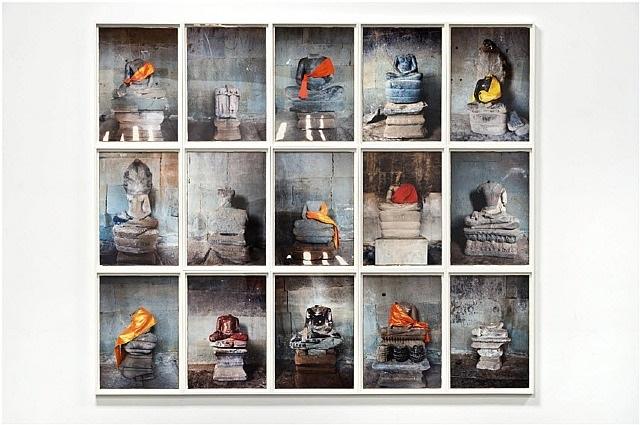 the headless buddhas of angkor by dinh q. lê