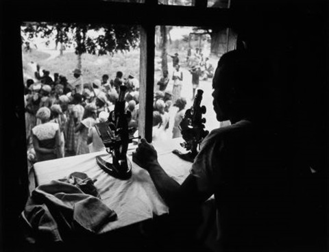 microscopes the leper village by w eugene smith