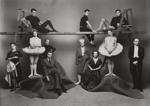 ballet theater group new york by irving penn