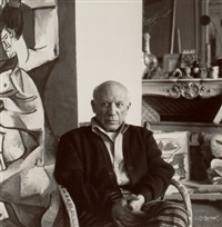 pablo picasso, cannes by lee miller