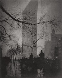 the flatiron, new york by edward steichen