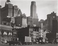 west street, new york by berenice abbott