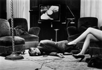 t.v. murder, cannes by helmut newton