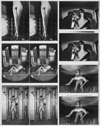 untitled proof sheet by helmut newton