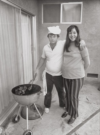 sunday afternoon we get it together i cook the steaks and my wife makes the salad by bill owens