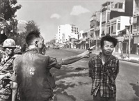 street execution of a vietcong prisoner, saigon by eddie adams