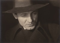 untitled (portrait of a man) by josef sudek