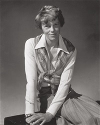 amelia earhart, for vanity fair by edward steichen