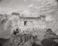monk's residence, zanskar, india, by linda connor